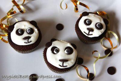 babeczki pandy