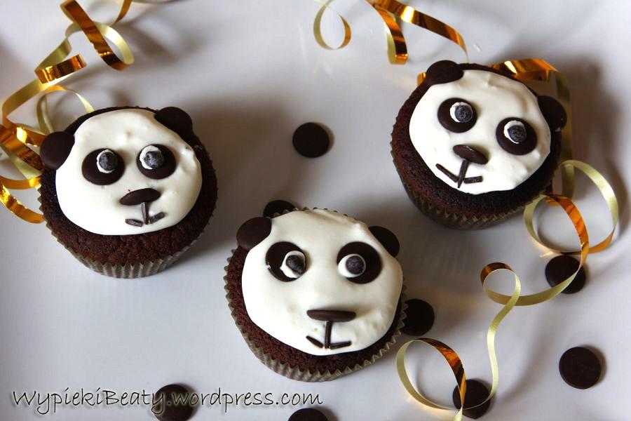 babeczkowe pandy