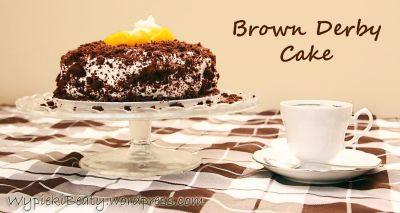 tort brown derby