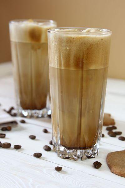 mrożona kawa