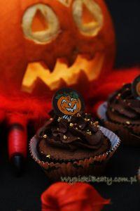 czekoladowe babeczki halloweenowe5