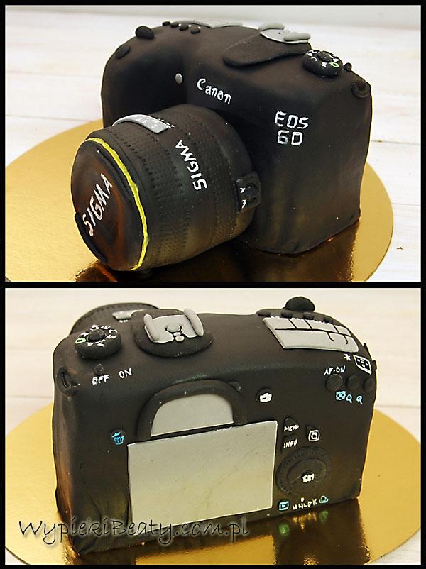 tort aparat canon cake