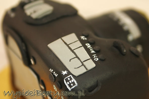 photo camera cake tort aparat fotograficzny