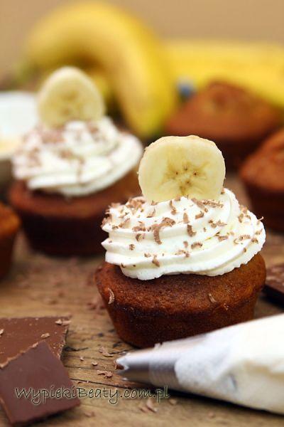 babeczki z bananami
