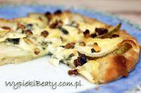 pizza z gruszkami