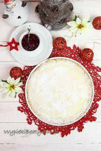 tarta z serem i żurawinami1