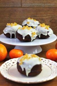 pączki czekoladowo-pomarańczowe