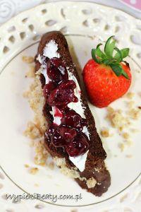 czekoladowa drożdżówka