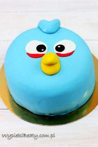 torty angry birds świnia i niebieski3