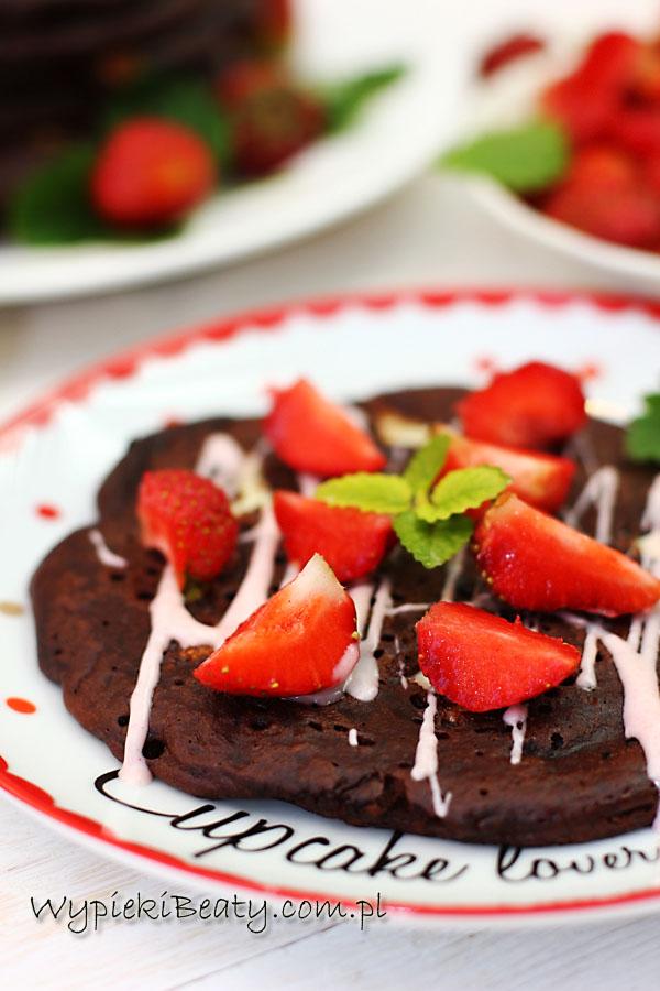 czekoladowe pancakes piegowate1