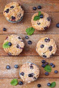 muffinki twarogowe z borówkami1