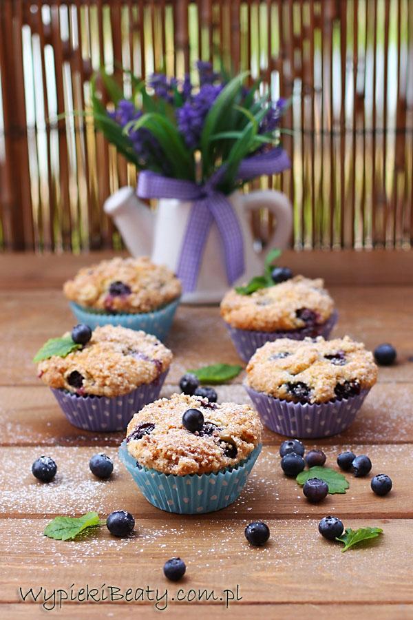 muffinki twarogowe z borówkami2