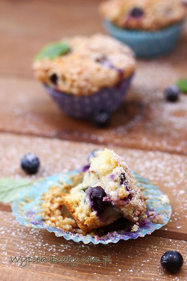 muffinki twarogowe z borówkami5