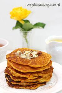 marchewkowe pancakesy