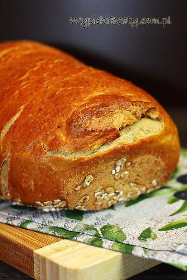 chleb pszenny na piwie
