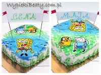 tort urodzinowy spongebob
