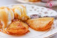 gruszki karmelizowane