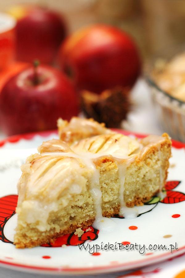 ciasto kokosowo-jabłkowe