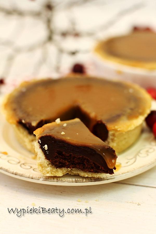 tarta czekoladowa z solonym karmelem1