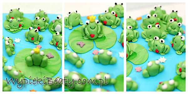 tort z żabkami 3