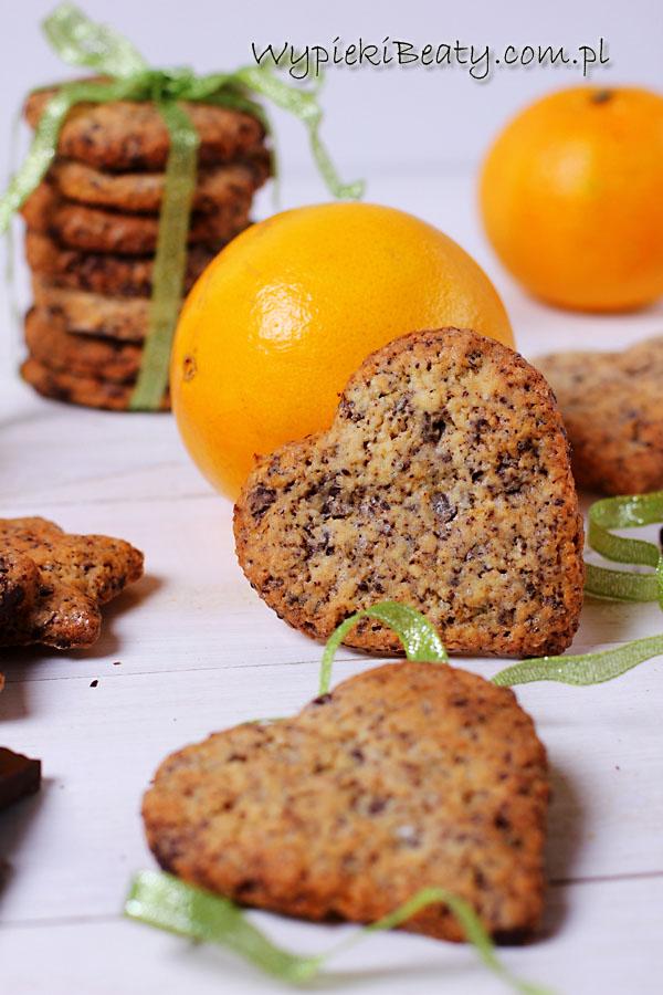 ciasteczka czekoladowo-pomarańczowe1