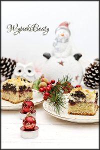 ciasto z makiem i twarogiem