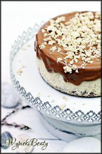 sernik chałwowy z czekoladą2
