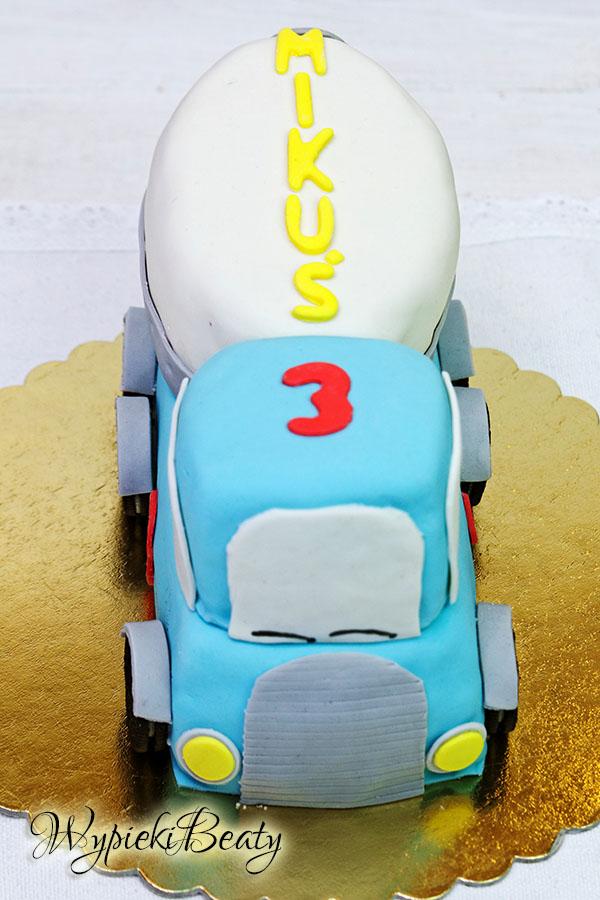 tort betoniarka mixer cake