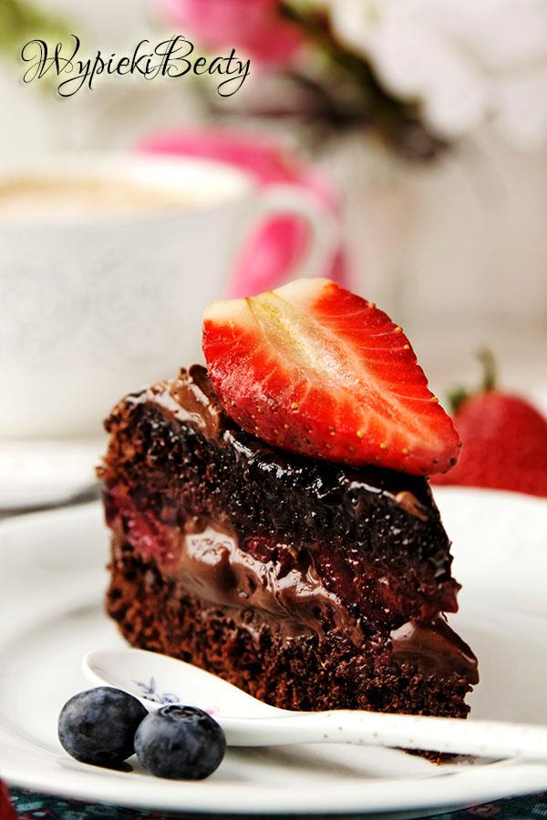 torcik czekoladowo-wiśnowy_9