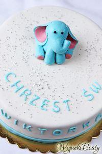 tort na chrzciny wiktora_2
