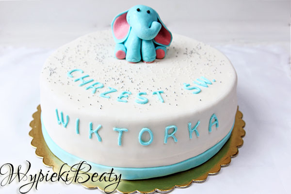 tort na chrzciny wiktora_4