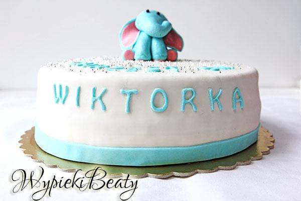 tort na chrzciny wiktora_6
