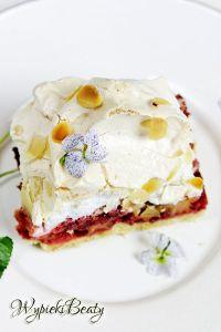 ciasto z rabarbarem i bezą_1