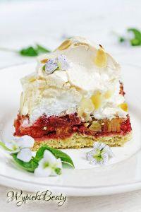 ciasto z rabarbarem i bezą_3