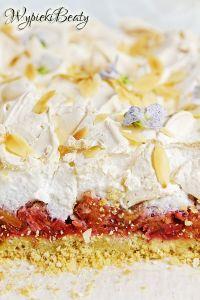 ciasto z rabarbarem i bezą_7