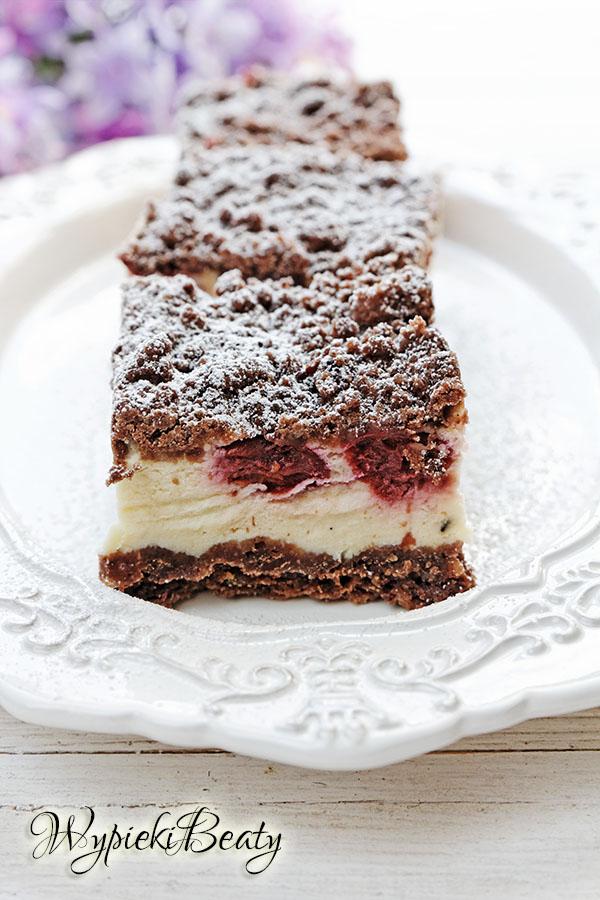 Royal cherry cheesecake sernik królewski z wiśniami