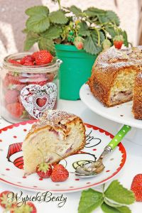 ciasto z truskawkami i twarogiem_4
