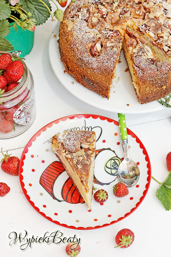 ciasto z truskawkami i twarogiem_5