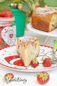 ciasto z truskawkami i twarogiem_6