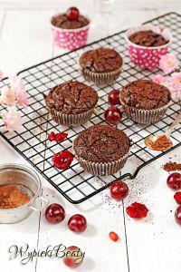 babeczki brownie z wiśniami_1