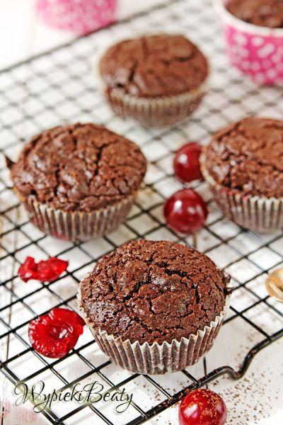 cherry brownie cupacakes