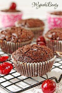 babeczki brownie z wiśniami_3