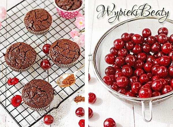 babeczki brownie z wiśniami_5
