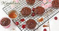 babeczki brownie z wiśniami_facebook