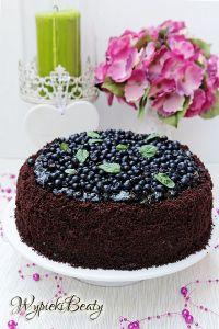 tort czekoladowy z jagodami_1