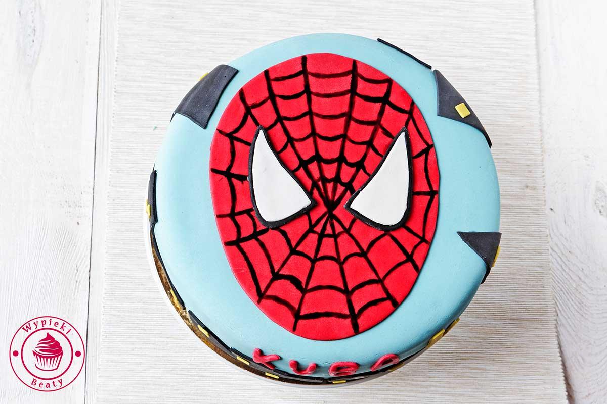 tort dla chłopca spiderman