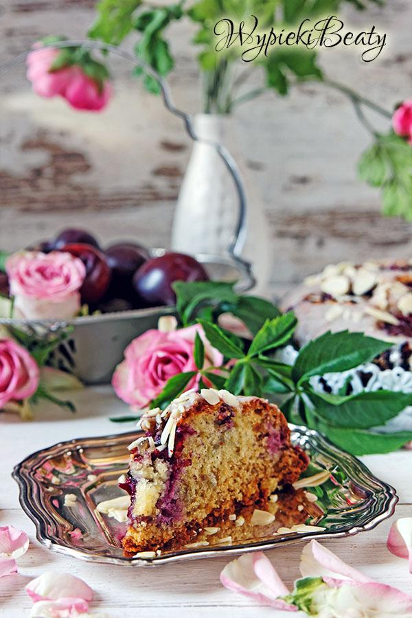 pomarańczowe ciasto ze śliwkami_5