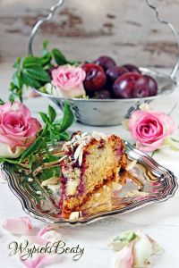 orange plum cake