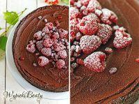 tarta czekoladowa z malinami_5