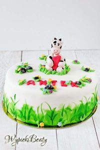 tort z krówką